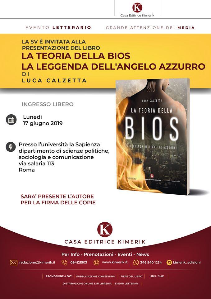 ac843da2a7 La Teoria della Bios , presentazione a Ro... 17/06/2019. Pronti per la  presentazione del libro